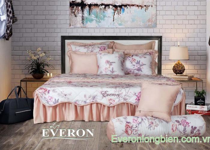 Bộ chăn ga gối Everon ES1718